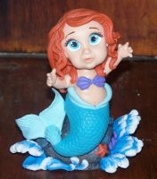 little mermaid wants a hug by melinaminotti