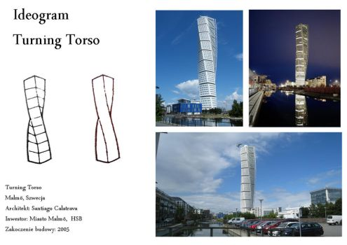 Turning Torso ideogram by Adlerrr