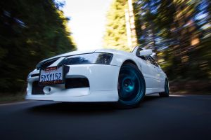 Evo And The Rig by molivera707