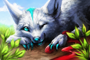 For Grypwolf by Demeritas