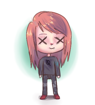 Chibi Style Frecklepep by Frecklepep