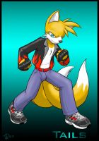 Tails Gone Teen by demented1