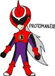 Protoman.EXE by tanlisette