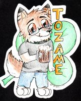 Tozame Chibi Badge by sporkyd00m