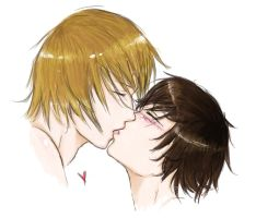 Kiss - coloured version by tNienjaa