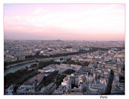 Paris - view from Eiffel tower by SeiMissTake