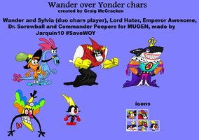 Wander over Yonder chars for MUGEN by Jarquin10