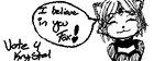 Miiverse Vote 4 Krystal in Smash by Xeno-Guardian