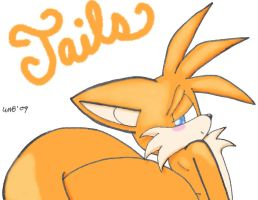 "Tails ""the Cutie"" Prower by AnyalLyn"