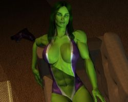 She hulk - Exclusive 15 by MorganCygnus
