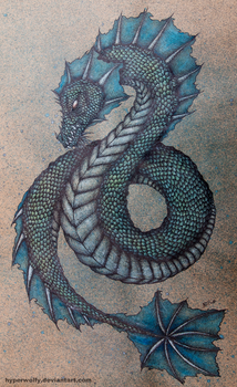 Sea Dragon by hyperwolfy