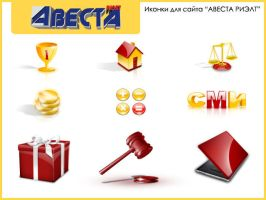 Avesta Icons by tomko89