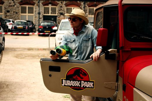 What Kind Of Park Is This? [Jurassic Park Cosplay] by Luxris