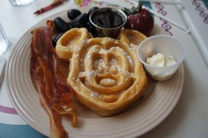 Mickey Mouse Pancakes by hellokitty1996