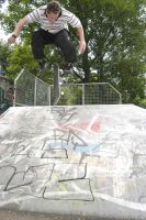 Wouter B. - Nollie bs flip by Obscurity-Doll