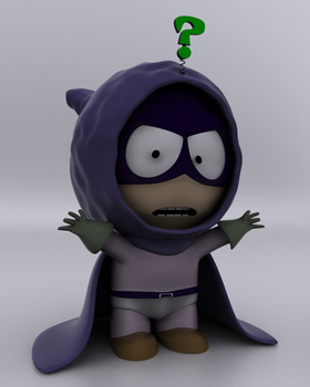Mysterion from Southpark by rvdm88