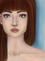 Freckled Beauty by balletbunhead20