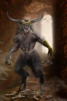 Son of Minos by RavenMorgoth