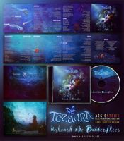 Tezaura - Unleash the Butterflies CD Packaging by Aegis-Illustration