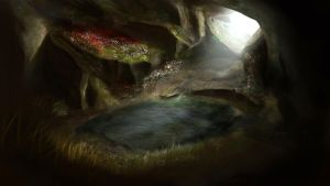 Cave by Dusturn
