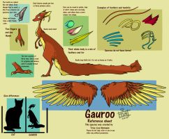Gauroo Reference sheet by SeaGerdy