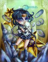 Sailor Mercury by HeirOfGlee