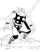 Thor Lines by wardogs101