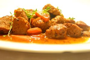 Soy Goulash by Sintorion