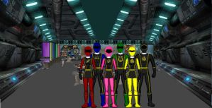 Power Ranger Olympus Force by Gageous