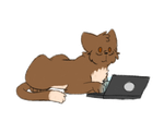 cats can't use laptops by TobiIsTheHero