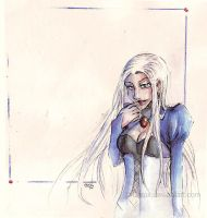 Sarah .blue. by Cleox