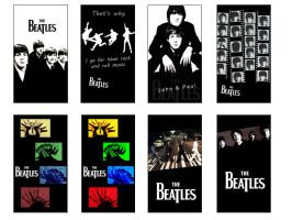 The Beatles mobile wallpapers by san-neechan