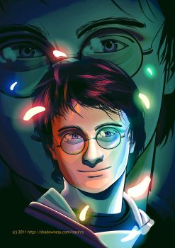 Harry Potter by caffeinesoup