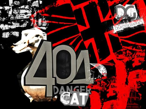 404 Danger Cat by ison-trade
