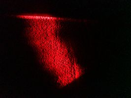 laser on the wall by P8ntBal1551
