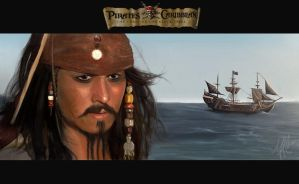 Jack Sparrow by thepenciler