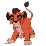 Kion-other possible look as Kovu and Kiara's son by Se7J-r