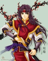 Dynasty Warriors: Zhou Yu by Setomi