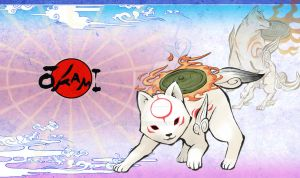 Okami Playmat Version. Purpley! by Atluss