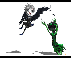 Gimme Some Feathers~! by ay4u