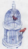 A Cage for You and Me by SylarSushiCat