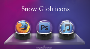Snow Glob icons by MayFlyArt