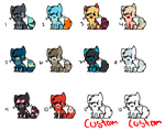 Kitty Adoptables Batch ||4 OPEN|| by AdoptingLove