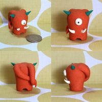 Algernon the Timid Monster by TimidMonsters