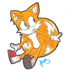 Miles (Tails) Prower ::marker:: by firebladecatcalie