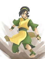 One A Day 02 - Toph by charlestanart