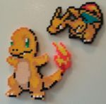 Charmander and Charizard by DuctileCreations