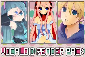 *Vocaloid Render Pack* by Shiro-Takamura