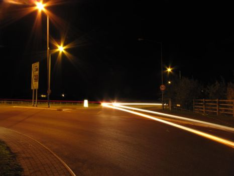 The Car Lights _3 by SandallPhotography
