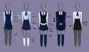 School Uniform Designs by Hennalah